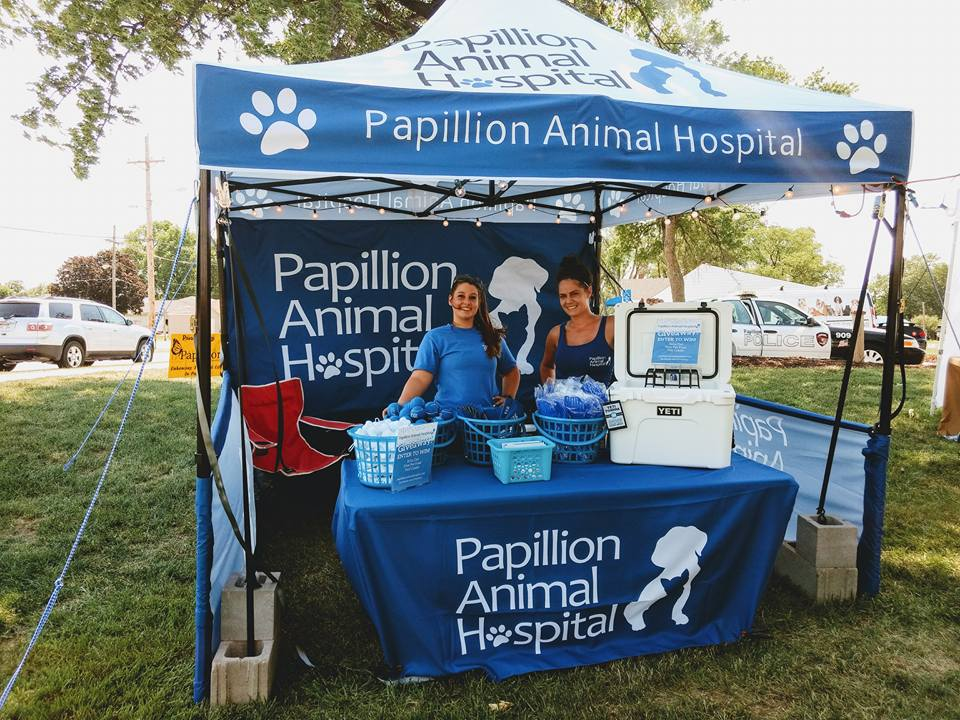 Papillion Days Booth